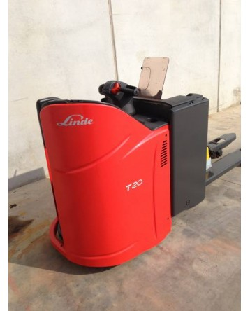 Pallettruck Linde T20 2012