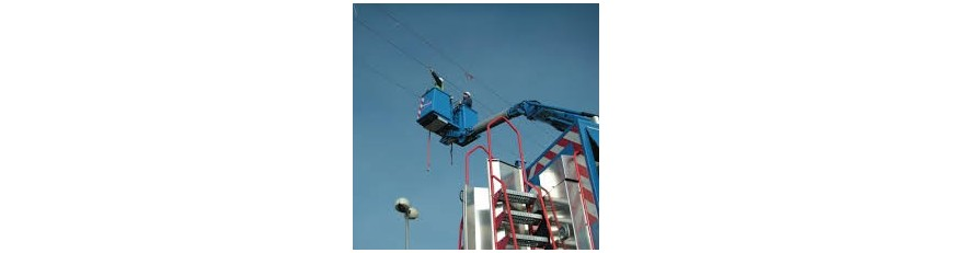 Plataformas para trabajos en alta tensión